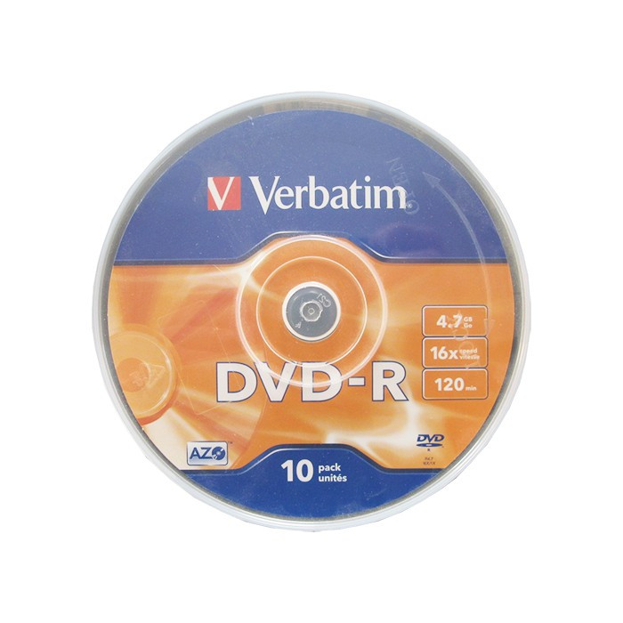 DVD+/-R bulk 10 VERBATIM foto mare