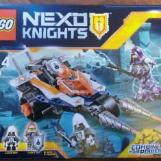 Lego Nexo Knights 70348 Original -Motocicleta dubla a lui Lance -nou, sigilat