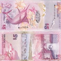 Bermuda 5 Dollars 01.01.2009 UNC - bancnota america
