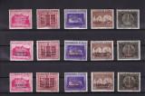 ROMANIA 1941 LP 143 LP 143 I LP 143 II  FUNDATIA  CAROL I CHISINAU  CERNAUTI MNH, Nestampilat