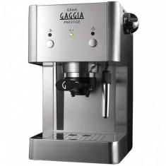Espressor Manual Gaggia Prestige 15 bar 1 Litru 950W Argintiu