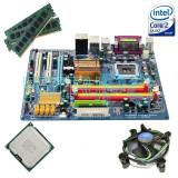 Pret Bomba! Kit Placa de baza Gigabyte+ Intel Core2Quad Q9505 + 4GB RAM GARANTIE, Pentru INTEL, LGA775, DDR2