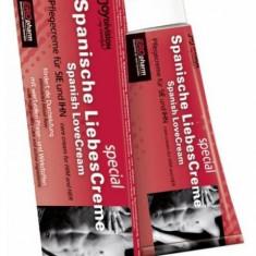 Crema Stimulare Erectie Spanish LoveCream - Stimulente sexuale
