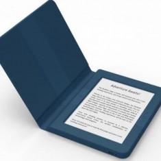 E-Book Reader Bookeen SAGA, Ecran Multi-touch capacitive touchscreen E-Ink 6inch, Procesor 1GHz, 8GB Flash, Wi-Fi + Husa silicon inclusa (Albastru)