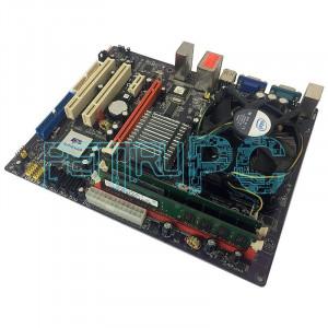Pret Bomba! Kit Placa de baza ECS+Intel Core2Quad Q9505 + 4GB RAM GARANTIE 1 AN!