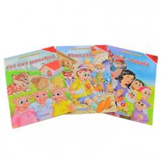 Carte de colorat cu povesti A4 Eurobookids