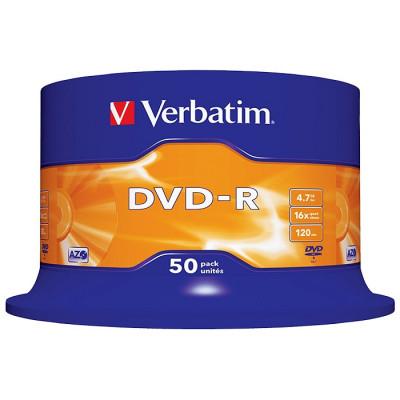 DVD+/-R bulk 50 VERBATIM foto