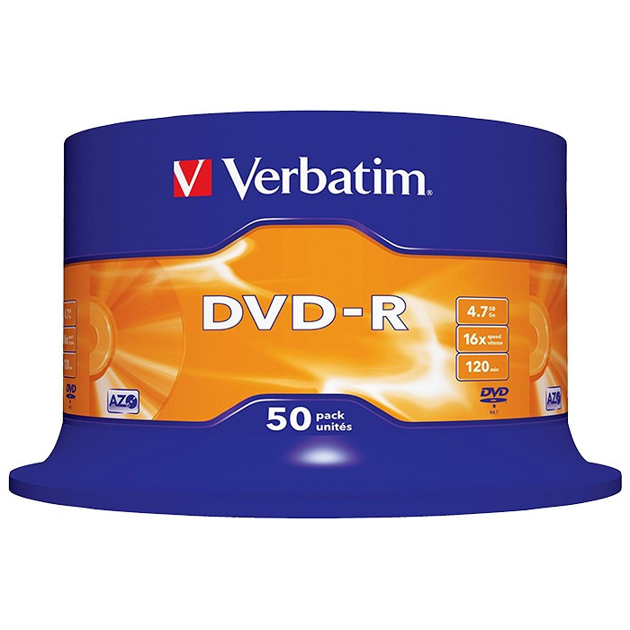 DVD+/-R bulk 50 VERBATIM foto mare