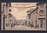 CAMPINA VEDERE DIN STRADA CAROL I COLOSEUL  BULEVARD  AUTOMOBIL EPOCA CIRC. 1929, Circulata, Printata
