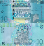 Samoa 10 Tala 2008 UNC