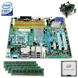 Ieftin! Kit Placa de baza Acer+ Intel Quad Core X3330 2.66GHz+ 4GB DDR3 GARANTIE