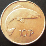 Moneda 10 PENCE - IRLANDA, anul 1969  *cod 4532
