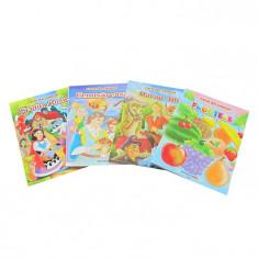 Carte de colorat cu povesti B5 Eurobookids