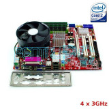 PROMO! Kit Placa de baza MSI + Intel Quad Core E5450 3GHz + 4GB RAM GARANTIE !!!, Pentru INTEL, LGA775, DDR2
