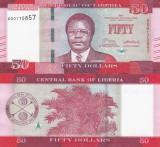 LIBERIA 50 dollars 2017 UNC!!!