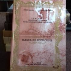 MANUALUL UCENICULUI - OVIDIU GALES - Carte masonerie