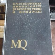 ENCICLOPEDIA ARHEOLOGIEI SI ISTORIEI VECHI A ROMANIEI - CONSTANTIN PREDA VOL.III M-Q