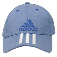 Șapcă Adidas Performance 3 Stripes Albastra - Sapca Barbati Adidas, Marime: Marime universala, Culoare: Albastru
