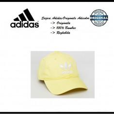 Sapca Adidas Originals Adicolor - Originala - Bumbac - Detalii anunt - Sapca Barbati Adidas, Marime: Marime universala, Culoare: Galben