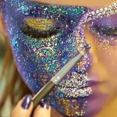 Sclipici gel makeup fata si corp, 10 ml, PaintingGlow - Face painting copii
