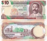 Barbados 10 Dollars 02.05.2012 Sig. Dr. DeLisle Worrell UNC