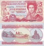 Insulele Falkland 5 Pounds 01.06.2005 UNC