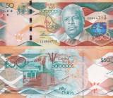Barbados 50 Dollars 02.05.2013 UNC