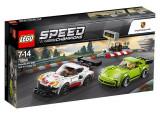 LEGO Speed Champions - Porsche 911 RSR si 911 Turbo 3.0 75888