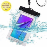 "Husa telefon subacvatica transparenta 3.5"" - 6"""
