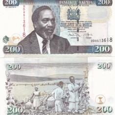 Kenya 200 Shillings 16.07.2010 UNC