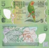Fiji 5 Dollars 2013 UNC