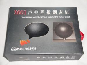 Scrumiera spion   cu sim gsm X601