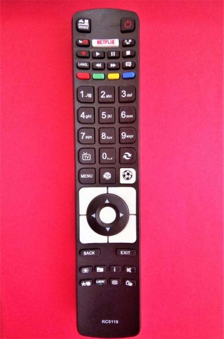 Telecomanda SALORA SMART55LED, 10101501 KENDO LED55FHD172 WELLINGTON WL32HD279SW