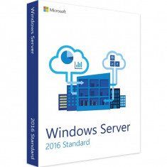 Windows Server 2016 Standard - in limba Engleza - Sistem de operare
