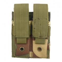 Portincarcator dublu pistol Woodland
