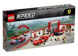 LEGO Speed Champions - Garajul Suprem Ferrari 75889