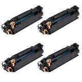 Set 4 HP CE278A,Toner Compatibil HP Laserjet P1500,P1600,P1566,P1567,PRO P1568