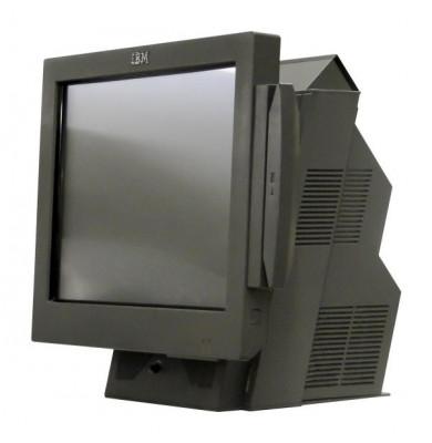 Sistem POS IBM SurePOS 4840-564, Display 15inch Touchscreen, Intel Celeron 2.0 GHz, 1 GB DDRAM, 40 GB ATA, Lipsa Plastic Lateral foto