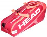 Elite 6R Combi 2018 geanta rachete rosu-roz, Head