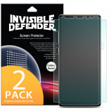 2X Folii Protectie Ringke Invisible Defender Samsung Galaxy Note 8 - Full Cover