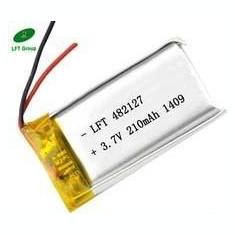 033450 - Acumulator Li-Polymer - 3,7 V - 600mah - 50x34x3 mm