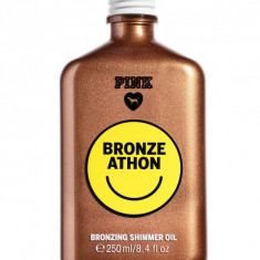 Ulei De Plaja Cu Sclipici, Bronze Athon, PINK Victoria's Secret, 250 ml - Protectie solara