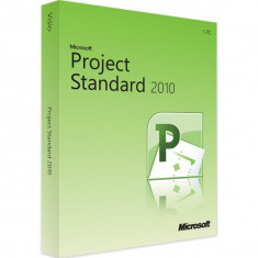 Microsoft Project Standard 2010 - in limba Romana sau Engleza - Aplicatie PC