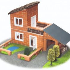 Set constructie Vila cu garaj - 330 piese - Set de constructie TEIFOC
