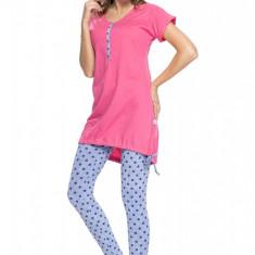 Pijama sarcina si alaptare Rosy - Pijamale gravide