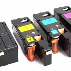 Set 4 Cartuse C1700 BK/COLOR Compatibile pentru Epson ACULASER CX17, CX17NF, CX17FW, C1700, C1750N, C1750W