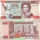 Belize 20 Dollars 01.01.2012 Comemorativa UNC