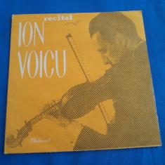 VINIL CLASICA-ION VOICU ,RECITAL, electrecord