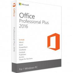 Microsoft Office Professional Plus 2016 - in limba Romana sau Engleza - Aplicatie PC