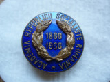 Insigna Academia Republicii Socialiste Roamania 1866-1966